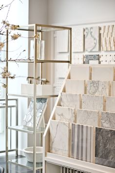 Surfaces in the Georgetown Showroom