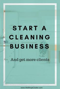 Growing your cleaning business. 5 simple and cost effective ways you can score your first clients and continue to grow your cleaning business. Cleaning Companies, Cleaning Business, Diy Cleaning Products, Cleaning Services, Small Business Marketing, Start Up Business, Business Planning, Business Hair, Business Ideas