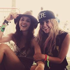 Pretty Little Hipsters cast at Coachella - see more pics at the source