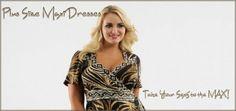 Plus Size Ruffle Shirt | Womens Plus Size Ruffled Maxi Dress | Deartha Women's Plus Size ...