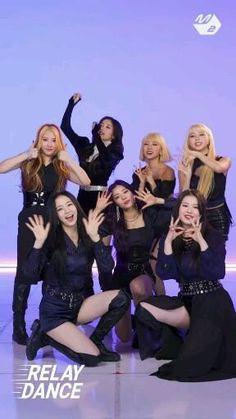Girl Dance Video, Hip Hop Dance Videos, Dance Moms Videos, Dance Choreography Videos, Dance Kpop, Kpop Girl Bands, Black Pink Dance Practice, Mode Kpop, Kpop Couples
