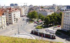 Johann-Nepomuk-Berger-Platz: Es geht los! Street View