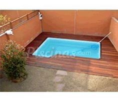 Mini piscina en fibra cano modelo c 2 para atico ideas - Comprar piscina prefabricada ...