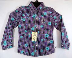 CRUEL GIRL COWGIRL WESTERN SHIRT PURPLE DOT ROWELS L/S GIRL TODDLER 3T NWT $34 RETAIL OUR PRICE $15.99 FREE SHIP! our prices are WAY BELOW RETAIL! all JEWELRY SHIPS FREE! www.baharanchwesternwear.com baha ranch western wear ebay seller id soloedition