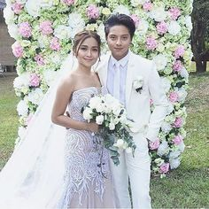 #canthelpfallinginlove #kathniel #wedding
