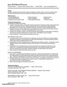 Skill Based Resume Examples Functional