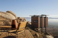 The Endemico Resguardo Silvestre project was completed by San-Diego based firm Gracia Studio in 2011. The project is a set of 20 EcoLofts nestled on a rocky cliff above Valle de Guadalupe, a village, which is known as 'Mexico's Wine Country', in Baja California, Mexico.