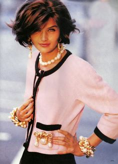 Chanel. I can not look at this without seeing Jackie Kennedy covered in blood