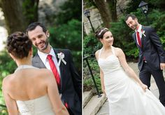 The First Look Reaction  | Old Mill Wedding | Raph Nogal Photography | Toronto Wedding Photographer
