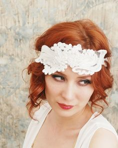 flapper inspired headband!