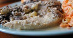 Gospodyni Miejska: Filety z kurczaka zapiekane w zupie cebulowej