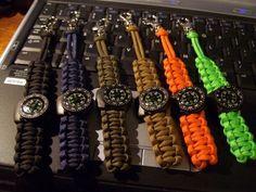 Stormdrane's Blog flashback to 2005, mini compass paracord lanyards