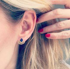 Boucles d'oreilles Coquillage