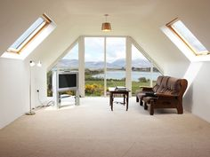 Holiday Cottage Glenbeigh, Ring of Kerry, County Kerry Dormer Bungalow, Detached House, Ideal Home, House Plans, New Homes, Cottage, Windows, Bedroom, Extension Ideas
