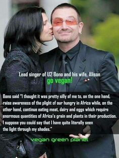Yay Bono, he's so good. Now we just need Bernie. Imagine the effect.