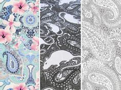 Posts Paisley Fabric, Business Help, Posts, Display, Floor Space, Messages, Billboard