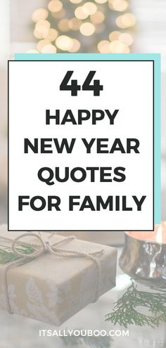 Looking for the best new year wishes for friends and family? This year, let's say more than Happy New Year with these unique messages instead. Click here for 44 New Year Quotes for friends and family, perfect for cards and gifts. Find the perfect new year greeting for him or her. #NewYears #NewYearQuotes #HappyNewYear #NewYearsEve #NewYearWishes #NewYears2020 #NewYearNewYou
