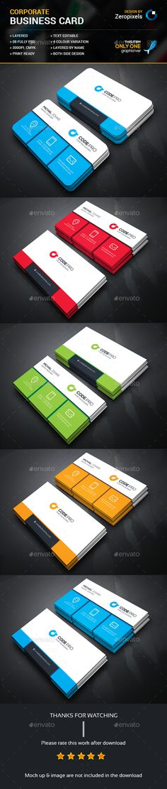Business Card Template PSD. Download here: http://graphicriver.net/item/business-card/15324498?ref=ksioks