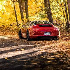 Autumn vibes porsche 911 targa