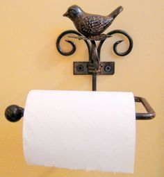 A bird willing to hold your toilet paper