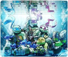 underwater Ninjas