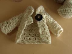 Lillian's crochet cardigan- the pattern