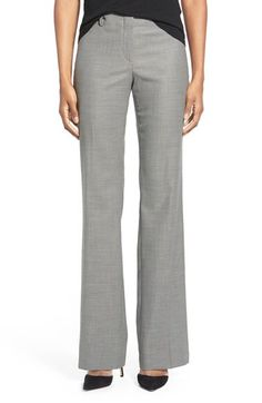 BOSS BOSS 'Temuna' Wool Blend Suiting Trousers available at #Nordstrom