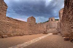 San José de los Jemez church ruins, Jemez National Historic Landmark, Sante Fe National Forest, Sandoval County, New Mexico 2 | By Chuck Sutherland