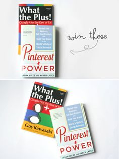 WIN these two essential social media marketing books! via www.thewonderforest.com