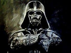 Darth Vader in Acrylic