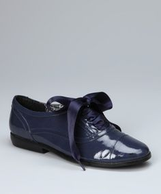 Take a look at this Blue Ragtime Loafer Oxford by VOLATILE on #zulily today!