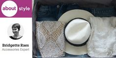 Packing a suitcase is hard enough.  Packing accessories, like shoes, hats and jewelry makes it even harder.  But not with these easy tips that you can get here.