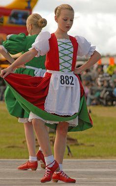 Red jumper and green dress in the background Scottish Highland Dance, Scottish Highlands, Irish Jig, Red Jumper, Irish Dance, Kilts, Dance Costumes, Cheryl, Green Dress