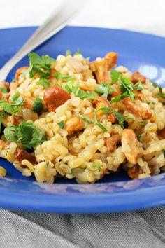 Helathy Food, Fried Rice, Pasta Salad, Vegan Vegetarian, Risotto, Good Food, Dinner, Ethnic Recipes, Diet