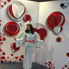 10 Gorgeous Valentines Day Decorations - Life Is Fun Silo Paper Flower Backdrop, Giant Paper Flowers, Valentines Day Party, Valentines Day Decorations, Backdrop Decorations, Backdrops, Decoration St Valentin, Valentinstag Party, Wedding Designs