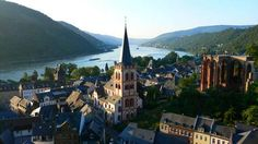 The Upper Middle Rhine Valley in Germany is filled with castles, historic towns, vineyards, and ultimately shows the history of human influence on an environment.