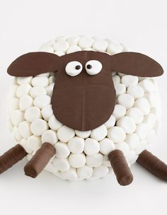 Tasty sweet treat recipes for everything from delicious muffins to yummy cakes and more. Shaun The Sheep Cake, Bolo Original, Eid Cake, Chocolate Shapes, Fiber Rich Foods, Novelty Cakes, Occasion Cakes, Cake Tins, Cream Cake