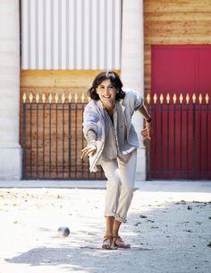 Inès de Fressange, #Paris, #JardinduPalaisRoyal
