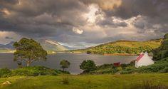 Tre årstider i skotska högländerna