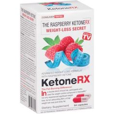KetoneRX Advanced Weight Loss Formula Dietary Supplement Capsules, 84 count