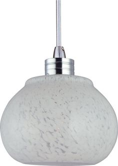"ET2 EP96003 1 Light 4.25"" Wide Rapid Jack Pendant from the Minx Collection Satin Nickel Indoor Lighting Pendants"
