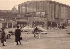 Strassenbahn am Bahnhof Zoo in den 50ern