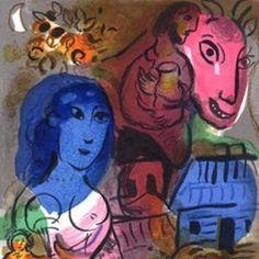 Картинки по запросу chagall illustrations