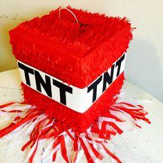 Minecraft Birthday Party Ideas - ParentMap, Minecraft pinata, Minecraft party games