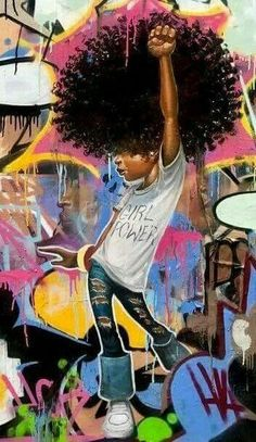 ~Angel in Disguise~ Black Love Art, Black Girl Art, Art Girl, Black Girl Magic, Black Girls, African American Art, African Art, Psychedelic Art, Fred Instagram