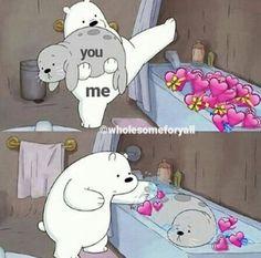 - Kermit the Frog Memes Cartoon Memes, Cat Memes, Funny Memes, Cartoon Bear, Cartoons, We Are Bears, Sapo Meme, Heart Meme, Cute Love Memes