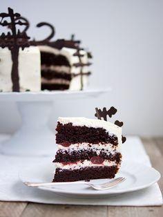Schwarzwaldský dort / black forrest cake | Pečení a vaření | Bloglovin'