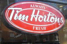 Tim Hortons, Canada's largest coffee and doughnut chain ,Lucas Oleniuk/Toronto Star File Photo Australian Recipes, Australian Food, Canadian Symbols, Timmy Time, I Am Canadian, Toronto Star, Tim Hortons, Middle East, Doughnut