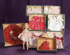 1950 - OMG, it's a Jenny Doll! I had 2 of these when I was a tiny little girl ... unfortunately, they didn't survive me.