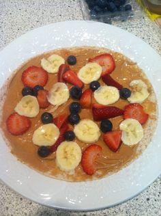 my favorite breakfast. . .fruit wrap